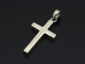 Basic MOKUME Cross Pendant