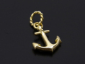 Anchor Pendant - K18Yellow Gold