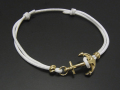 Anchor Code Bracelet K18YG