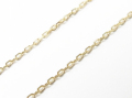 K18Gold 0.42 Square Chain - 45cm