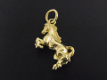 Horse Charm - K18Yellow Gold