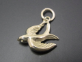 Swallow Charm - K10Yellow Gold