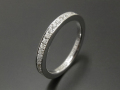 Eternity Ring - Silver w/CZ
