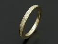 Eternity Ring - K10 Yellow Gold w/Diamond