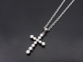 Multi Symbol Cross Necklace