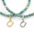 Ball Beads Anklet w/Horseshoe