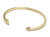 Small Arrow Bangle - K18Yellow Gold