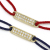 ID Plate Cord Bracelet&Anklet - K18Yellow Gold w/Diamond