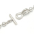 Ball Chain T-Bar Bracelet