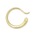 Gradation Hook Pierce - K18Yellow Gold