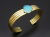 ATELIER MADE Turquoise 4Line Bangle