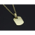Small Charm Necklace - Tag - K18Yellow Gold