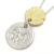 B.C. Coin Necklace / Hope Sun - Silver×K18Yellow Gold