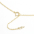Horseshoe Large + Small Key Set Necklace - K18Yellow Gold w/Diamond