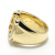 Combination Horseshoe Ring - K18Yellow Gold w/Diamond