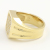 Large Signet Ring - K18Yellow Gold w/Diamond