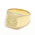Signature Ring - K18Yellow Gold