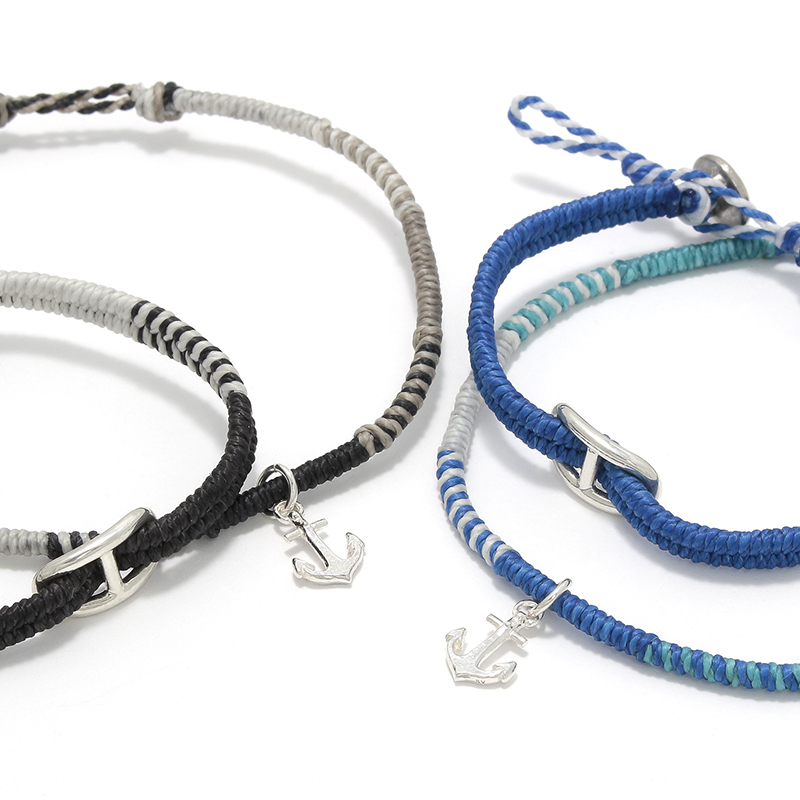 Collaboration Braid Bracelet & Anklet Set S.O.S fp 天神VIORO店オープン記念モデル