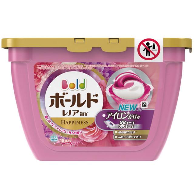 P&Gボールドジェルボール3Dプレミアムブロッサムの香り18粒入 <dh-21048>