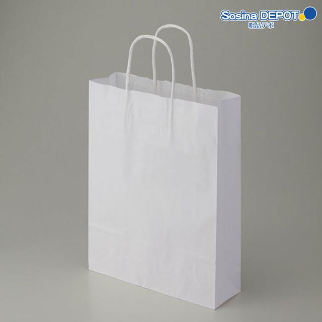 紙袋白無地SS <fu-10001>
