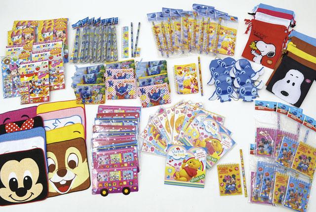 粗品・景品・ノベルティ・記念品の粗品屋本舗 お手軽おもちゃセット・キャラクター