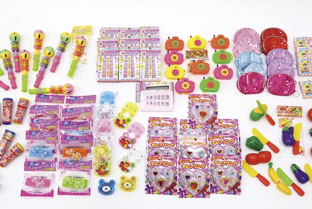 粗品・景品・ノベルティ・記念品の粗品屋本舗 お手軽おもちゃセット・女の子