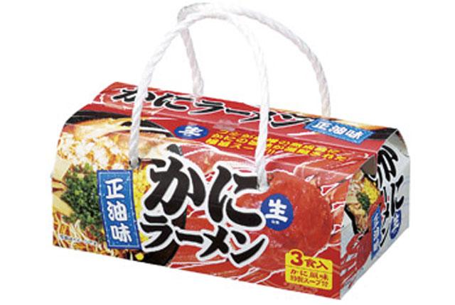 粗品・景品・ノベルティ・記念品の粗品屋本舗 海鮮スープラーメン3食かに風味正油味