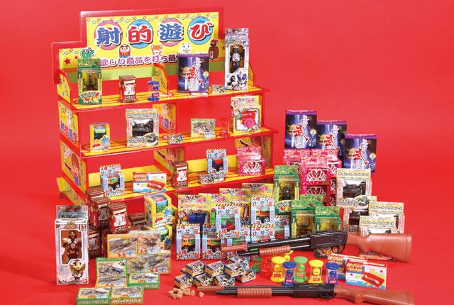 粗品・景品・ノベルティ・記念品の粗品屋本舗 縁日気分射的チャレンジ(おもちゃ100個)