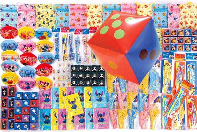 粗品・景品・ノベルティ・記念品の粗品屋本舗 サイコロころころキャラクタープレゼント約35人用 サイコロで抽選会
