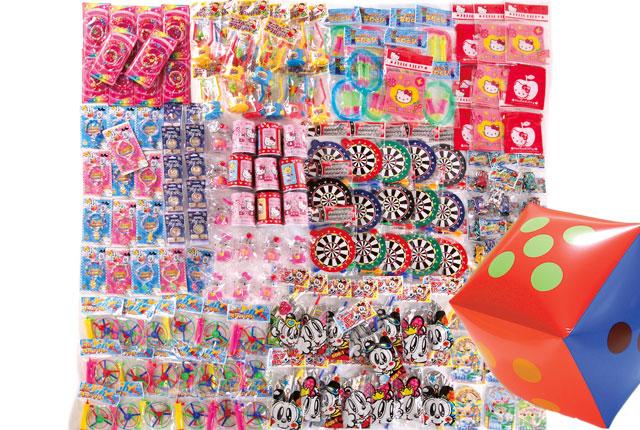 粗品・景品・ノベルティ・記念品の粗品屋本舗 サイコロころころおもちゃプレゼント約35人用 サイコロで抽選会