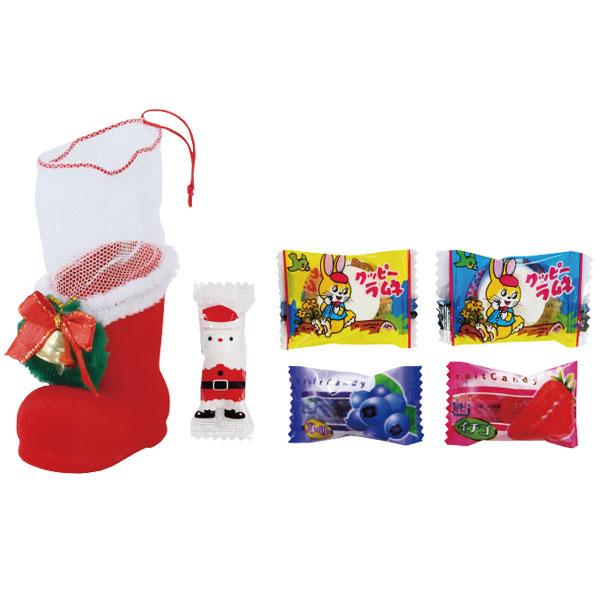 クリスマス!お菓子リースブーツ・ミニ 粗品屋本舗