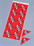 粗品・景品・ノベルティの粗品屋本舗 スクラッチ三角くじ(1シート:20枚付) 抽選用品