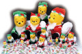 粗品・景品・ノベルティ・記念品の粗品屋本舗 サンタのくまさんクリスマス抽選会