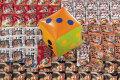 粗品・景品・ノベルティ・記念品の粗品屋本舗 サイコロころころ全日本ラーメン巡りプレゼント約30人用 サイコロで抽選会