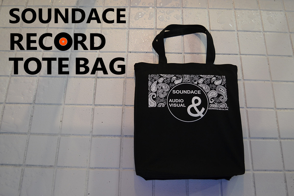 SOUNDACE RECORD TOTE BAG