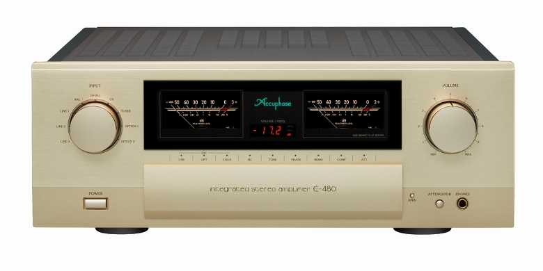 Accuphase(アキュフェーズ) E-480 インテグレーテッド・ステレオアンプ