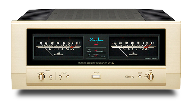 Accuphase(アキュフェーズ) A-47 純A級ステレオ・パワーアンプ