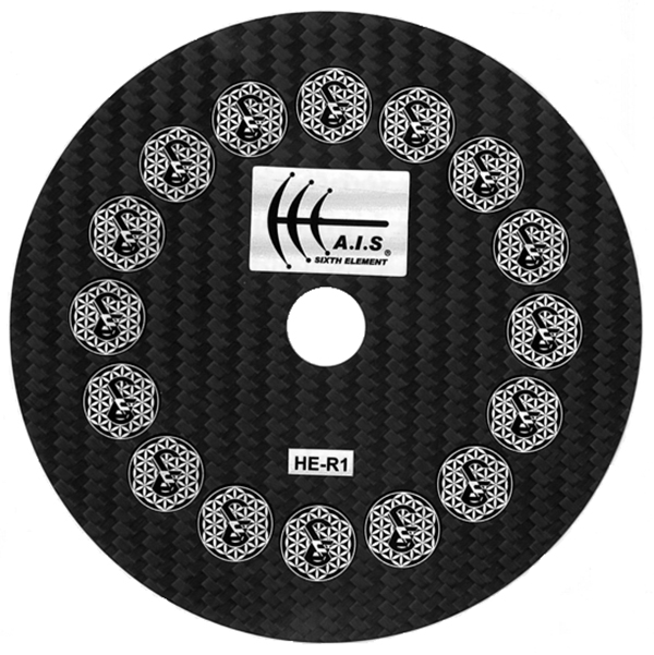 SIXTH ELEMENT(シックスエレメント) HE-R1(PRO X) CD/DVD DISC STABILIZER