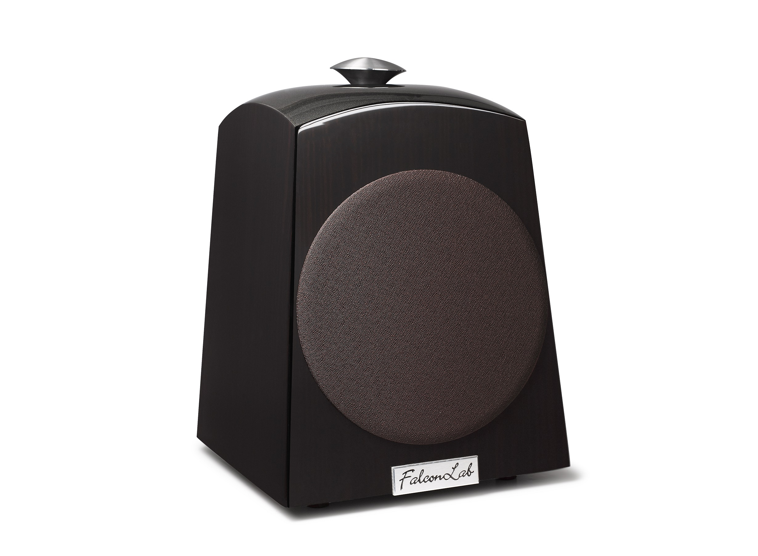 FalconLab Model201WG 全指向性スピーカーシステム (木目調ピアノ黒塗装)