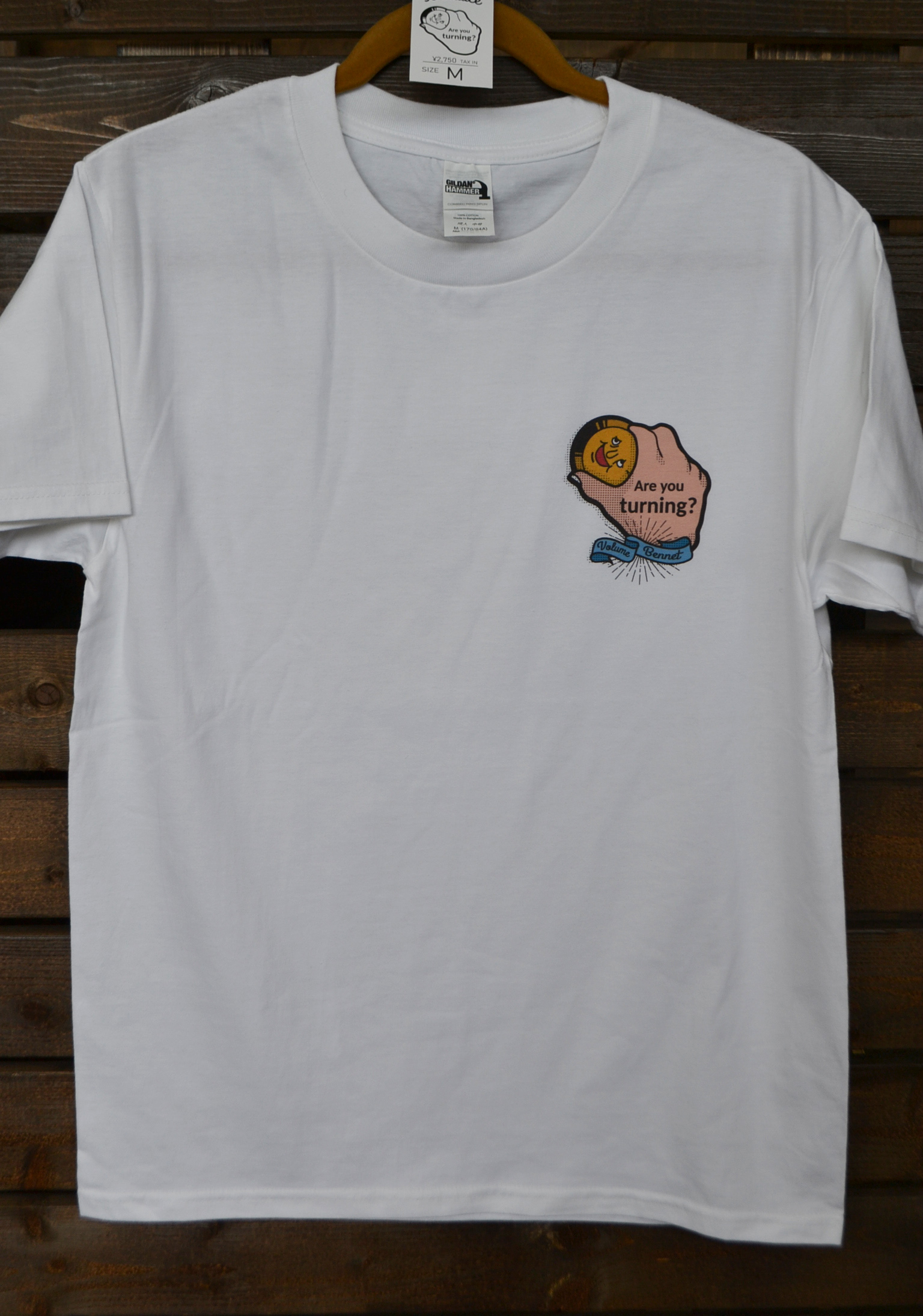 ★数量限定/送料無料★ VolumeBennet T-shirt / 心のボリューム上げていこうよプロジェクト