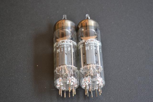 新品未使用品 東芝 真空管 6BM8(ペア)