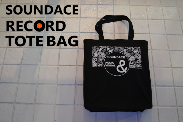 SOUNDACE RECORD TOTE BAG