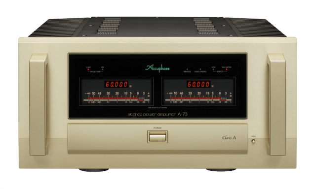 Accuphase(アキュフェーズ) A-75 純A級ステレオ・パワーアンプ
