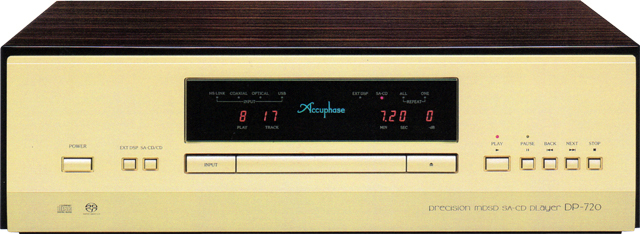 Accuphase(アキュフェーズ) DP-720 MDSD SA-CDプレーヤー