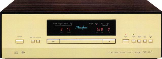Accuphase(アキュフェーズ) DP-720 MDSD SA-CDプレーヤー