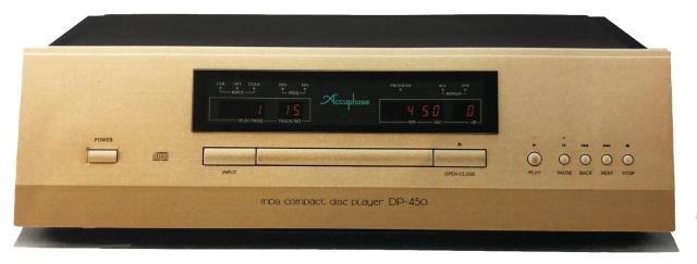 ★予約受付開始(6月中旬発売予定)★Accuphase(アキュフェーズ) DP-450 MDS CDプレーヤー