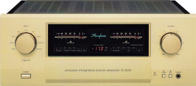 Accuphase(アキュフェーズ) E-600 純A級プレシジョン・インテグレーテッド・ステレオアンプ