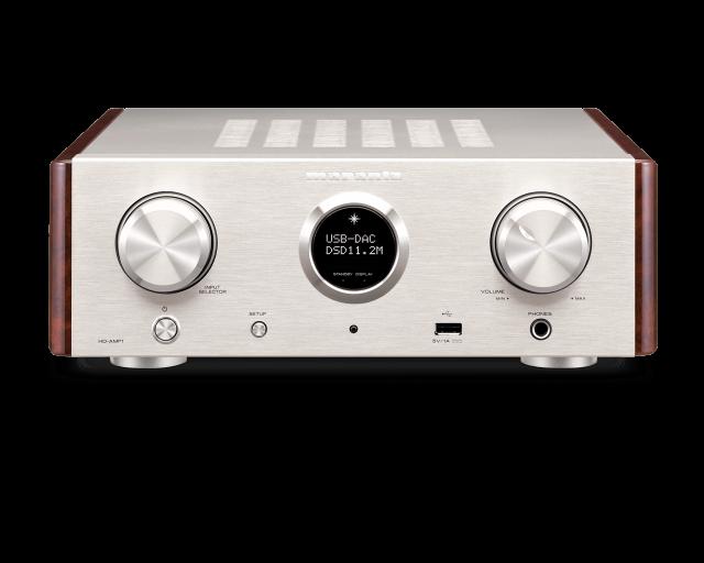 ★価格はお問い合わせ下さい/即納可能★ マランツ 11.2 MHz DSD、384 kHz/32 bit対応USB-DAC搭載 コンパクトプリメインアンプ  HD-AMP1