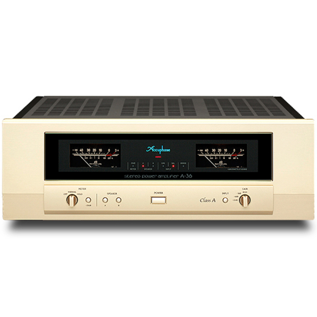 Accuphase(アキュフェーズ) A-36 純A級ステレオ・パワーアンプ