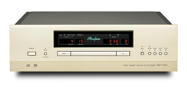 ★展示処分品★Accuphase(アキュフェーズ) DP-560 SA-CDプレーヤー/メーカー保証3年
